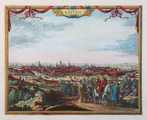 Pieter van der Aa (1659-1733) La Ville de Dantzic, dans la Prusse Royale