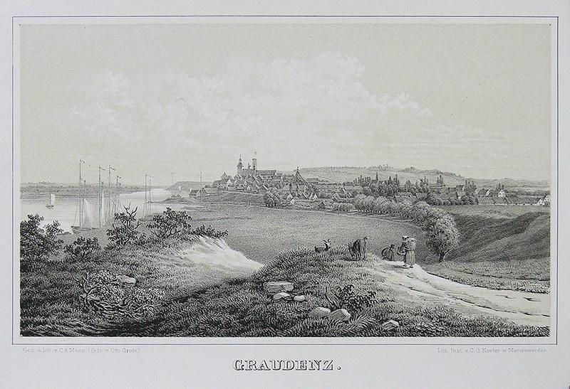 C. A. Mann (XIX w.) Graudenz