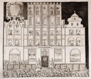Peter Böse Illuminatio Elbingae die 3. Aug. Ao 1735. In Honorem Smi Augusti III. Regis Poll…