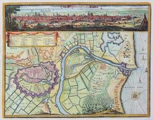 Erik J. Dahlberg (1625-1703) Dantiscum/ichnographia Urbi Gedani et Castelli…