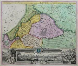 Johann Baptist Homann (1664-1724) Prospect, Grundris und Gegend der Polnischen vesten Reichs...