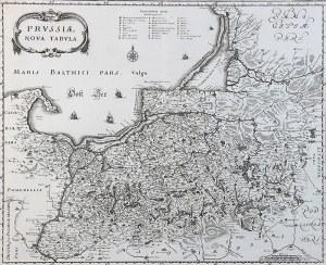 Matthäus Merian (1593-1650) Prussiae nova tabula