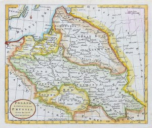 Thomas Kitchin (1718-1784) Poland Lithuania and Prussia from the latest authorities