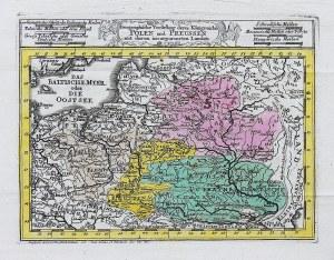 Georg Christoph Kilian (1709-1781) Geographische vorstellung derer Königreiche Polen und Preussen…