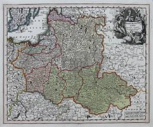 Johann Christoph Weigel (1654-1725) Poloniae & Lithuania accurante curatius…