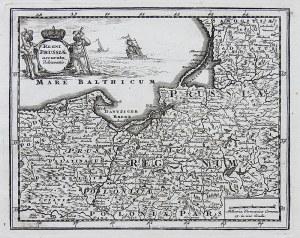 Heinrich Niderndorf Regni Prussiae accurata delineation