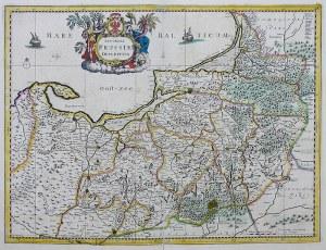 Frederick de Wit Accurata Prussiae descriptio