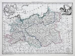 Pierre Lapie Grand Duche de Varsovie. Prusse..
