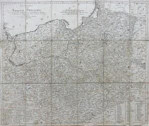 Daniel Friedrich Sotzmann (1754-1840) Generalkarte vom Königreich Preussen. nach astronomischen Ortsbestimungen…