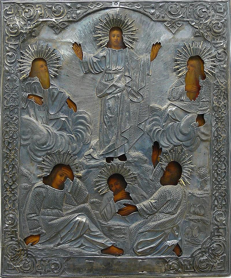 Ikona Wniebowstąpienia Chrystusa