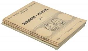 Medalierstwo i Falerystyka nr 3-7 + Ordery i odznaczenia polskie
