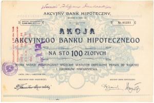 Akcyjny Bank Hipoteczny, 100 zł 1926