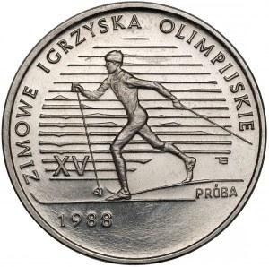 Próba NIKIEL 1.000 złotych 1987 Calgary 1988