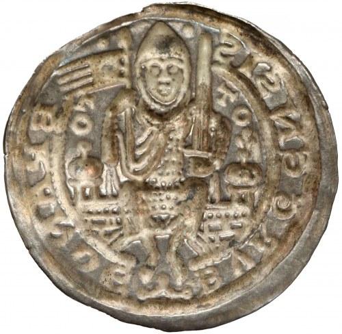 Niemcy, Brandenburgia, Otto I (1157-1184), Brakteat szeroki - RZADKI