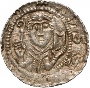Władysław II Wygnaniec, Denar - Książę i Biskup - И-P* - bardzo ładny
