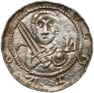Władysław II Wygnaniec, Denar - Książę i Biskup - ︵ i И