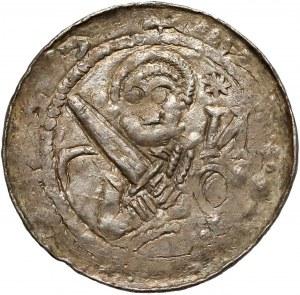 Władysław II Wygnaniec, Denar - Książę i Biskup - ( i И* - gwiazda nad biblią