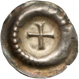 Pomorze Gdańskie, Brakteat - Krzyż grecki (2 poł. XIII w.)