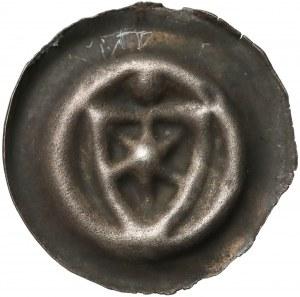 Zakon Krzyżacki, Brakteat - Tarcza z gwiazdą (1353-1360)
