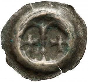 Zakon Krzyżacki, Brakteat - Arkady (1267-1278) - rzadki