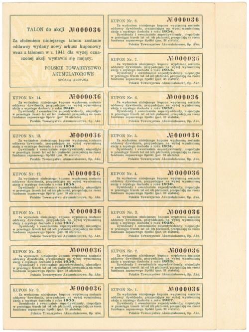 Polskie Towarzystwo Akumulatorowe, 50 zł 1925
