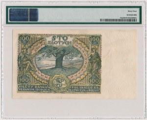 100 złotych 1932 - dwie kreski w znaku wodnym