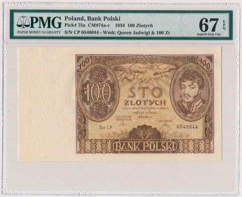 100 złotych 1934 - Ser.CP