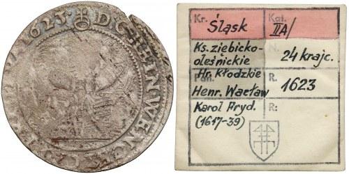 KAŁKOWSKI, Ks. Ziębicko-Oleśnickie, 24 krajcary 1623 BZ, Oleśnica