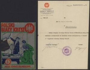 Polski Biały Krzyż niesie oświatę żołnierzowi, Cegiełka na 1 zł + dokument