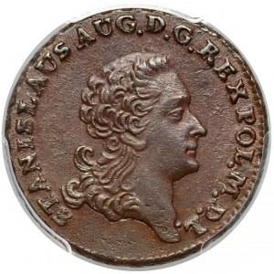 Poniatowski, Trojak 1767 - falsyfikat pruski - PIĘKNY