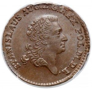 Poniatowski, Trojak 1768-G, Kraków - wyśmienity