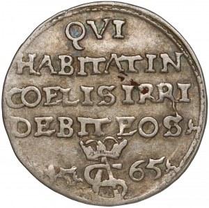 Zygmunt II August, Trojak Tykocin 1565 - Szyderczy - ładny