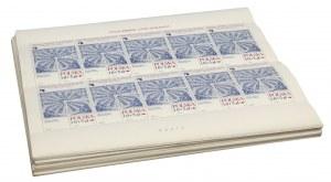Pakiet 96 sztuk arkuszy znaczków