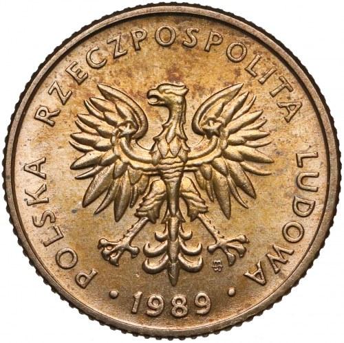 Próba MOSIĄDZ 10 złotych 1989 - nakład 10 sztuk - rzadkość