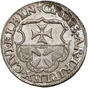 Zygmunt I Stary, Trojak Elbląg 1539 - b. ładny