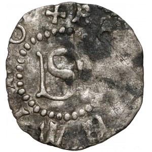 Śląsk, Żary, Jan von Biberstein (1340-1424), Halerz - bardzo rzadki