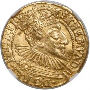 Zygmunt III Waza, Dukat Gdańsk 1595