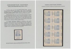 Wydział Narodowy Polski 1918, arkusz 25 dolarów
