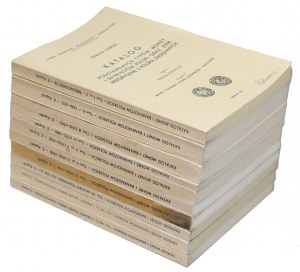 Kopicki, Katalog monet polskich... Wydanie I 1975-1983, Tomy I-VIII