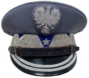 Czapka garnizonowa generała Milicji Obywatelskiej