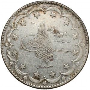 Turcja, Abdülhamid II, 20 kurus AH1293 (1877), Konstantynopol