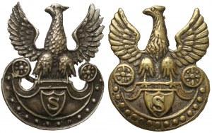 Miniatury Orłów strzeleckich (2szt)