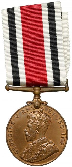 Wielka Brytania, Jerzy V, Medal Za wierną służbę w Policji specjalnej