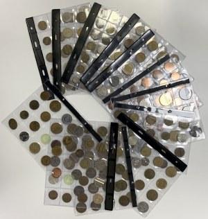 Kolekcja żetonów i monet zastępczych (260szt)
