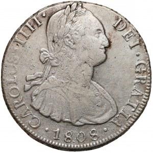 Boliwia, Karol IV, 8 reales 1808 PTS