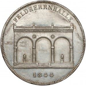 Niemcy, Bawaria, Dwutalar pamiątkowy 1844 - Feldherrnhalle