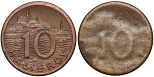 Słowacja, 10 halerzy 1942 (2szt)