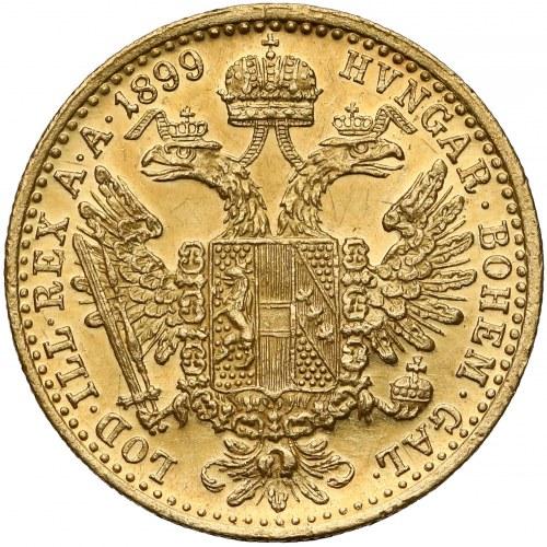 Austria, Franciszek Józef I, Dukat 1899