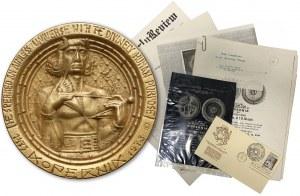 Medal Mikołaj Kopernik 1973 r. (Szukalski) - b.rzadki
