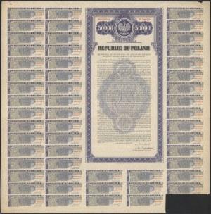 4.25% Pożyczka Zapałczana 1938, Obligacja $50.000